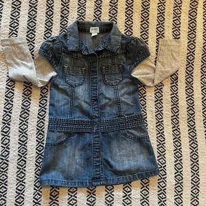 OLD NAVY DENIM GIRLS DRESS